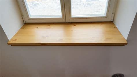 Massivholz Fensterbank by Fensterb 228 Nke