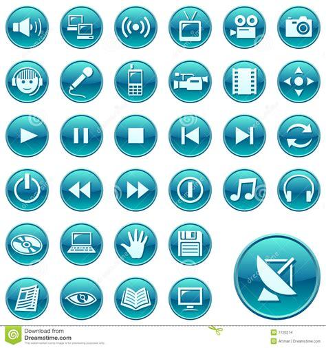 imagenes iconos web iconos del web botones redondos 3 ilustraci 243 n del vector