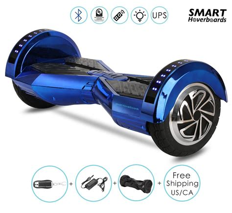 hoverboard bluetooth led lights chrome bluetooth hoverboard with led lights on the top of