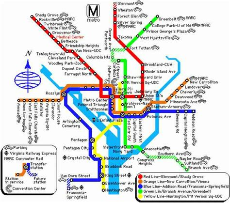 map of with stops dc map with metro stops holidaymapq
