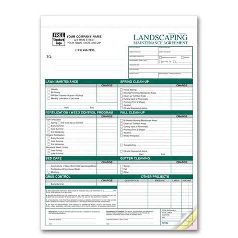 landscaping invoice template eduweb us