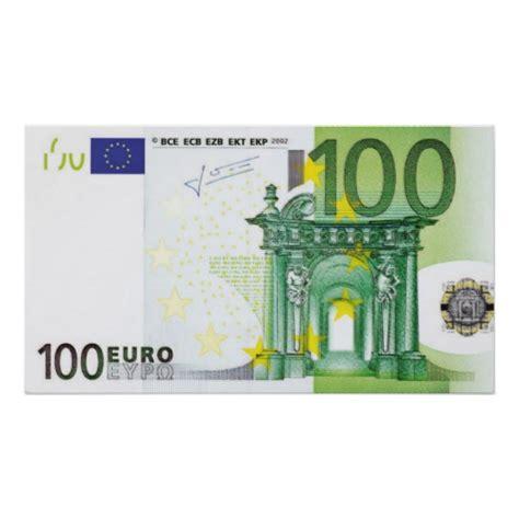 100 liegestütze de 100 scheine poster zazzle