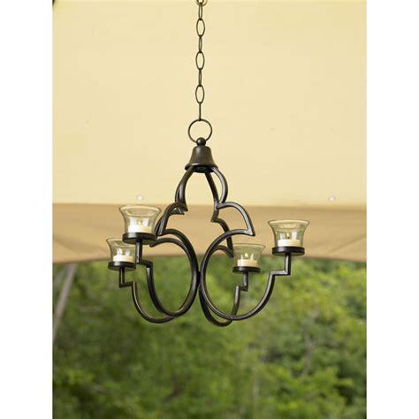 tealight chandelier smith today tea light chandelier outdoor living