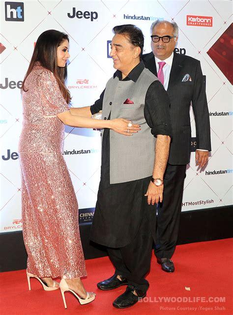 sridevi red carpet sridevi and kamal haasan reuniting at the ht style awards