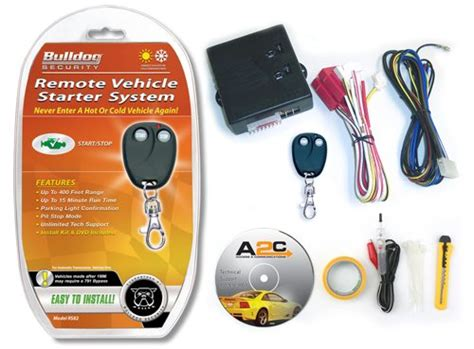 Alarm Mobil Bulldog remote starter for your car from bulldog security the