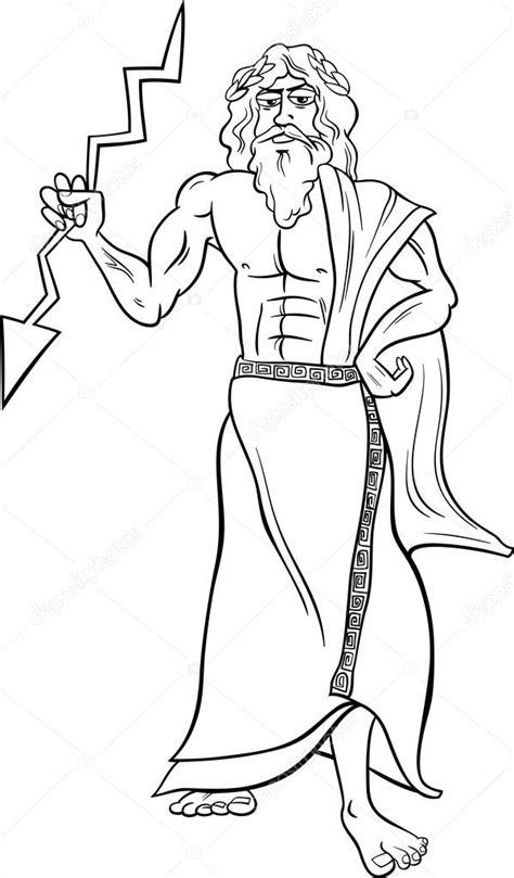imagenes de dios zeus para dibujar dios griego zeus p 225 gina para colorear archivo im 225 genes