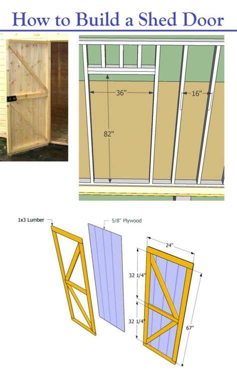 build  shed door storage shed plans