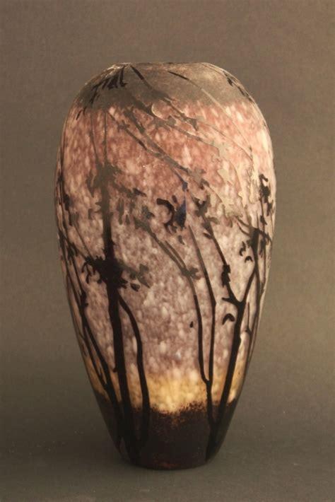 etched branch vase 11 5 quot unique accent decorative vases by