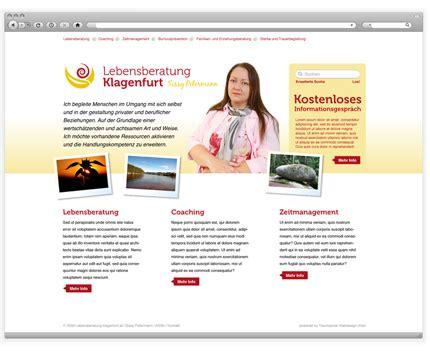 Web Design Homepage by Lebensberatung Klagenfurt Webseitenerstellung
