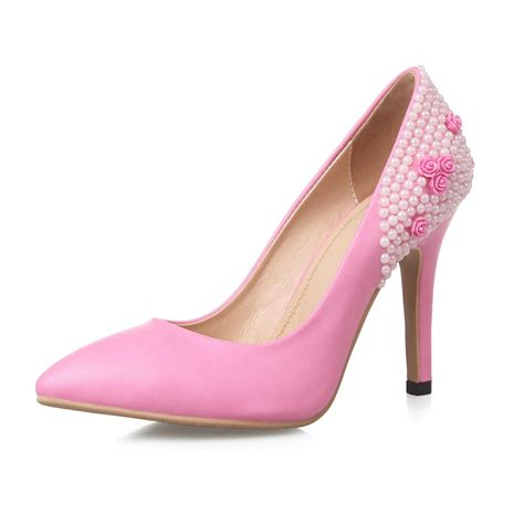 pink patent high heels fashion ladies high heel shoes pink patent leather shoes