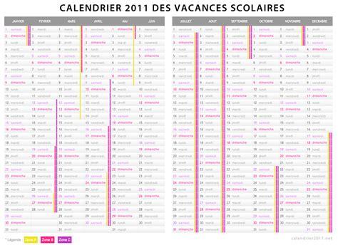 Calendrier Vacances Scolaires Vacances Scolaires 2011