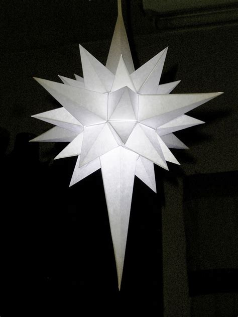 how to make a paper star of bethlehem this one can be