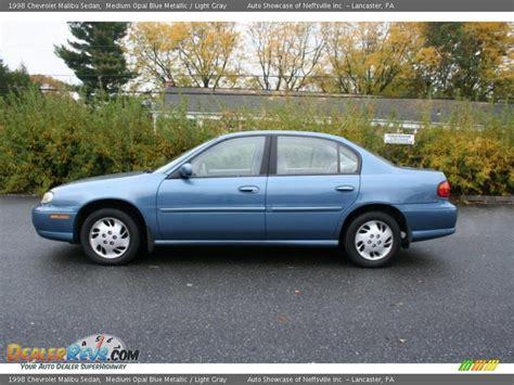 light blue chevy malibu 1998 chevrolet malibu sedan medium opal blue metallic