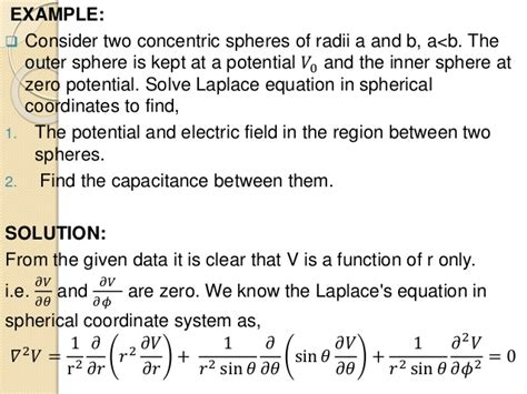 capacitor poisson equation spherical capacitor laplace 28 images capacitor capacitance calulation capacitor