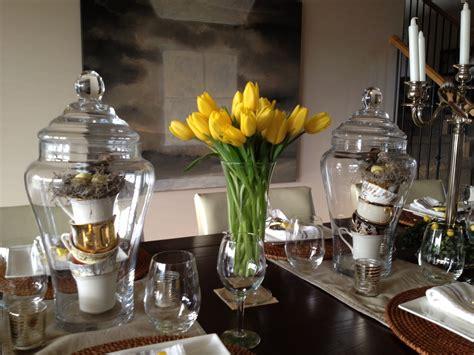 Homesense Vases easter table sugar plum