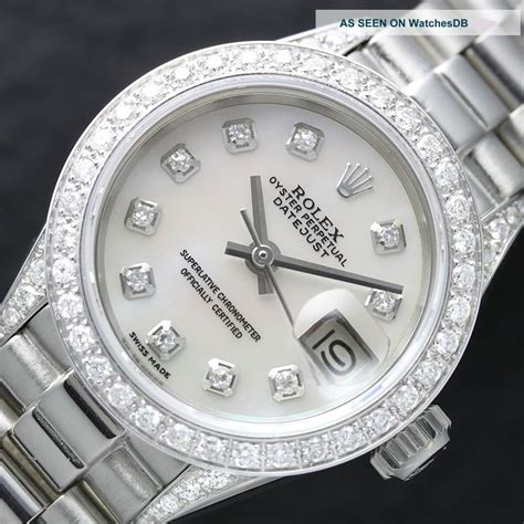 rolex watches with white or gold for