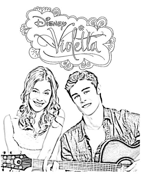 printable coloring pages violetta free coloring pages of violetta saison 1