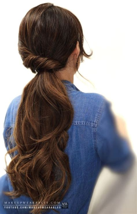 everyday hairstyles for long hair step by step how to 4 easy lazy hairstyles for school everyday for