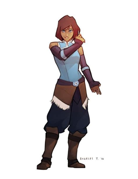 penny looks so much better in short hair in my opinion korra looks so much better with short hair
