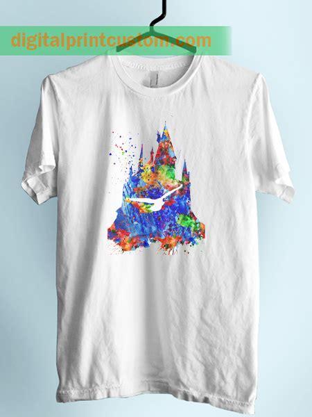 Hogwarts Harry Potter Custom Kaos Unisex harry potter hogwarts castle unisex tshirt