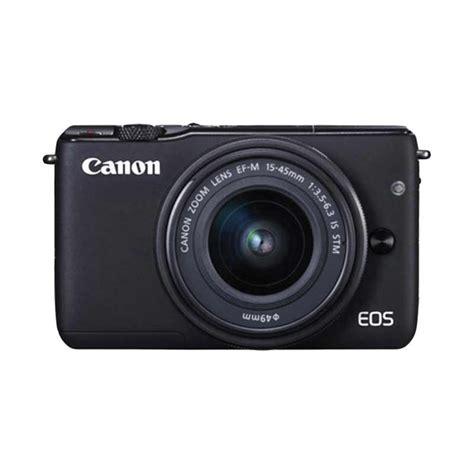 Kamera Canon M10 Mirrorless jual deals canon eos m10 kit 1 15 45mm is stm kamera