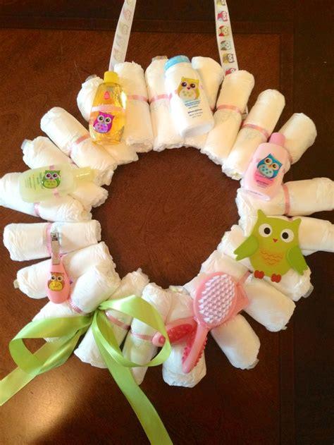 Baby Shower Door Decorations Baby Shower Wreath Hang It Up As Decorations Doors Pinterest Baby Wreaths The