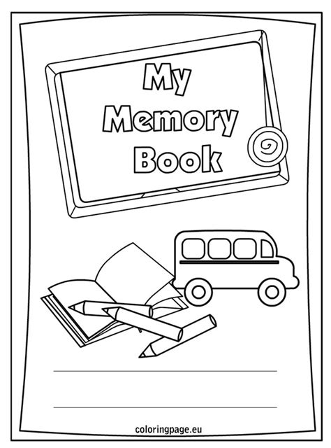 6 Best Images Of Printable First Day Of School Year Memory Book End Of School Year Memory Book Memory Book Templates