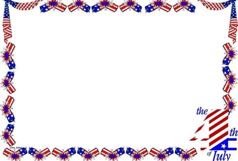 independence day clipart borders clipartsgram
