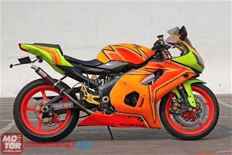 Motor Vixion Modif Nsr by Honda Nsr 150 Sp Warna Pelangi Ini Motornya Oto