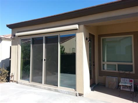 Glass Door Patio Enclosures by Walls Only Existing Roof