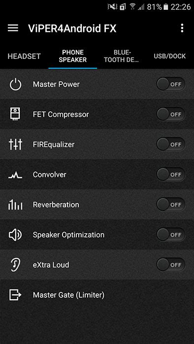 viper4android apk android4viper audio mod on android 7 0 nougat devices naldotech