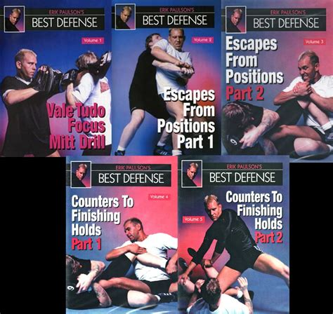 best judo dvd vd5179p erik paulson best defense 5 dvd set shoot