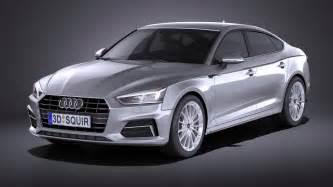 Audi A5 2017 Audi A5 Sportback 2017 Squir