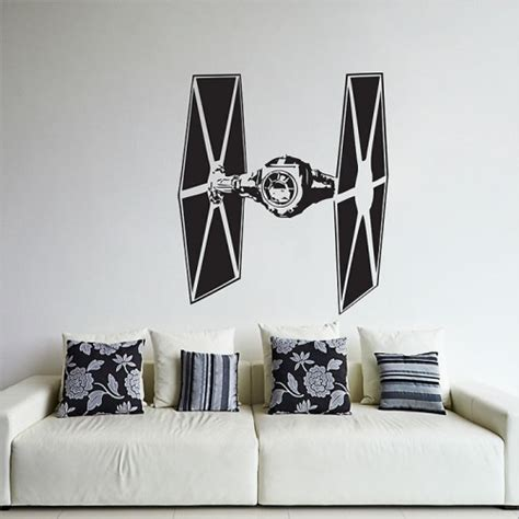 Star Wars Wandaufkleber star wars tie fighter wandaufkleber wandtattoo