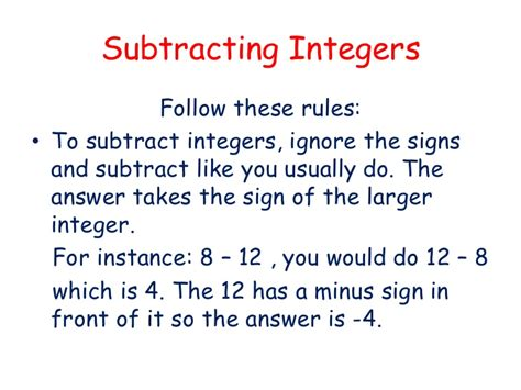 row row row your boat adding integers rules for multiplying and dividing integers rules for ad