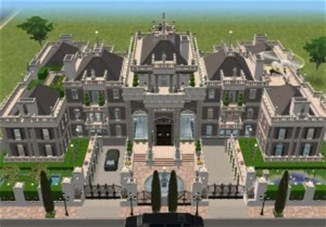 Coolhouseplan sims 3 super mansions homes of the rich