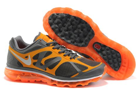 nike air max 2012 running shoes nike air max 2012 s charcoal orange running shoes