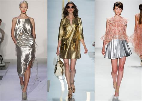 Trend White And Metallic by Nyfw Top 10 2014 Trends 90s White Sheer And