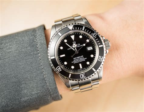 rolex dive watches rolex sea dweller 16600 steel dive