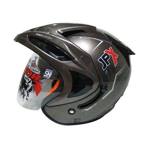 Helm Jpx Visor Jual Jpx Supreme Solid Visor Helm Half