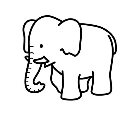 coloring pages of cartoon elephants cartoon elephant animals coloring pages for kids