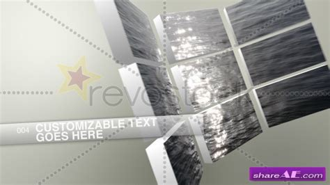 videowall 187 free after effects templates after effects