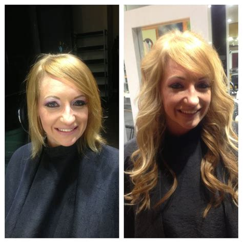 before after hair extensions discover and save creative ideas