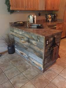 rustic kitchen island 1000 ideas about wood homes on rustic barn