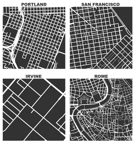 grid pattern new york compare city grids with this street network tool next city