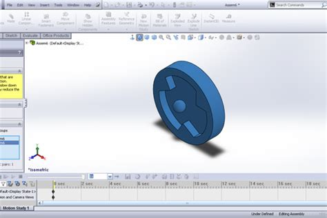 tutorial solidworks motion 2012 tutorial adding contact to motion study in solidworks
