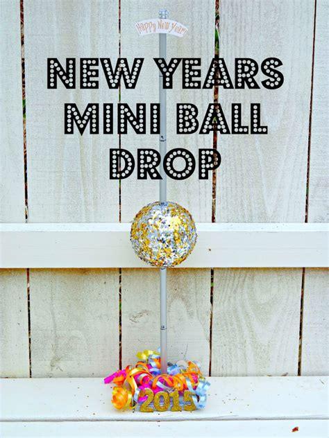mini new year new years mini drop