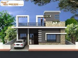 Home Design Plans India Free Duplex 2 Bedroom Simplex 1 Floor House Design Area 156m2 12m