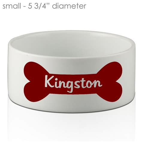 Gift Small 9312 Personalized Bone Bowl