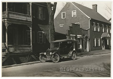 vogler house digital forsyth car on south main street 1938